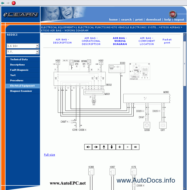 download FIAT SEDICI workshop manual