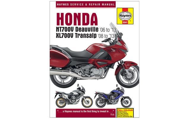 Honda Nt700v Deauville And Xl700v Transalp 2006