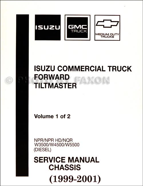 download Isuzu Npr Npr Hd Nqr W3500 W4500 W5500 Chassis Isuzu Truck Forward Tiltmaster Die workshop manual