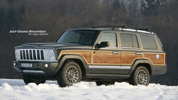 download Jeep Grand Wagoneer workshop manual