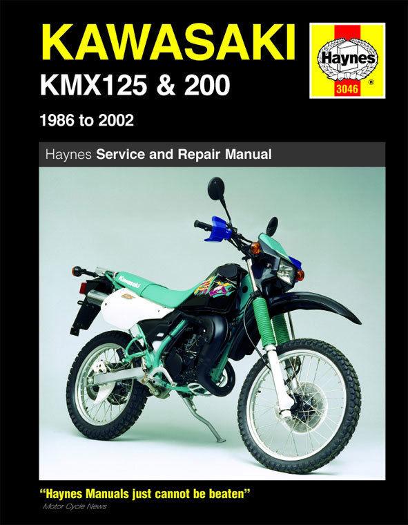 Kawasaki Kmx125 And 200 1986  U2013 2002 Haynes Owners Service