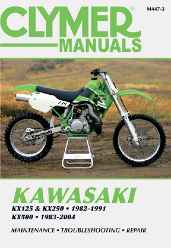 Kawasaki Kx125 1992  U2013 2000 Clymer Owners Service And