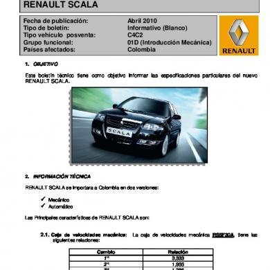 download Renault Scala workshop manual