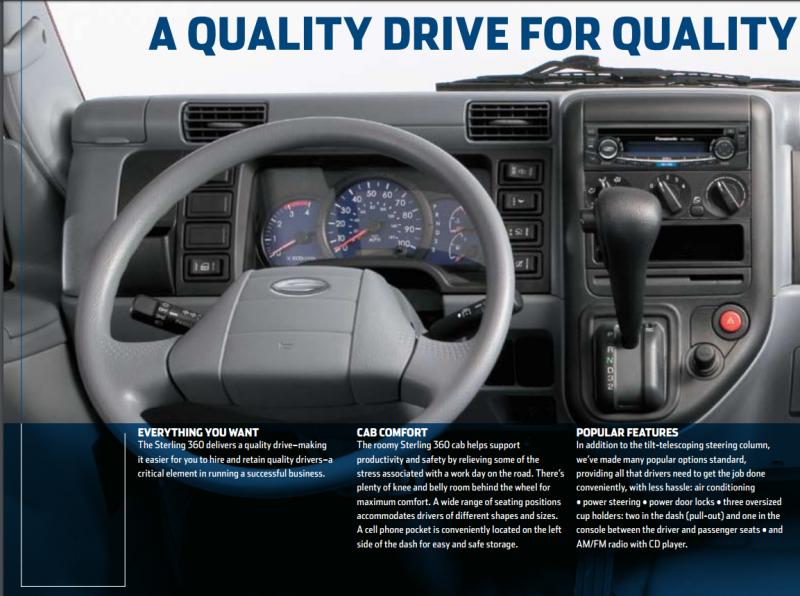 download Sterling 360 Drivers workshop manual