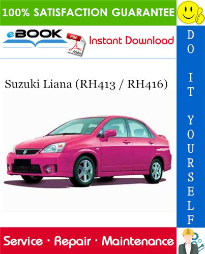 download Suzuki Liana RH413 RH416 workshop manual