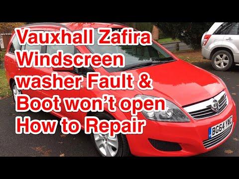 download VAUXHALL ZAFIRA workshop manual